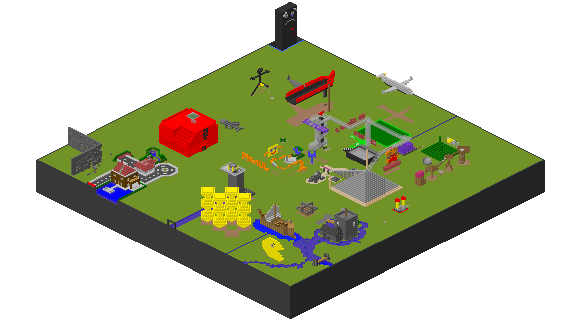 Is a tool which creates an isometric map of a minecraft map file